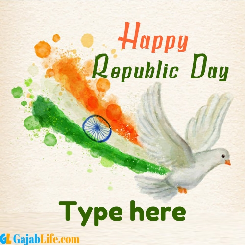 the republic day of india - 26th january