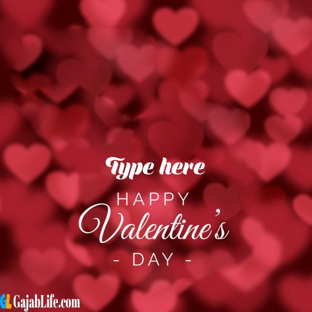write name on happy valentines day images