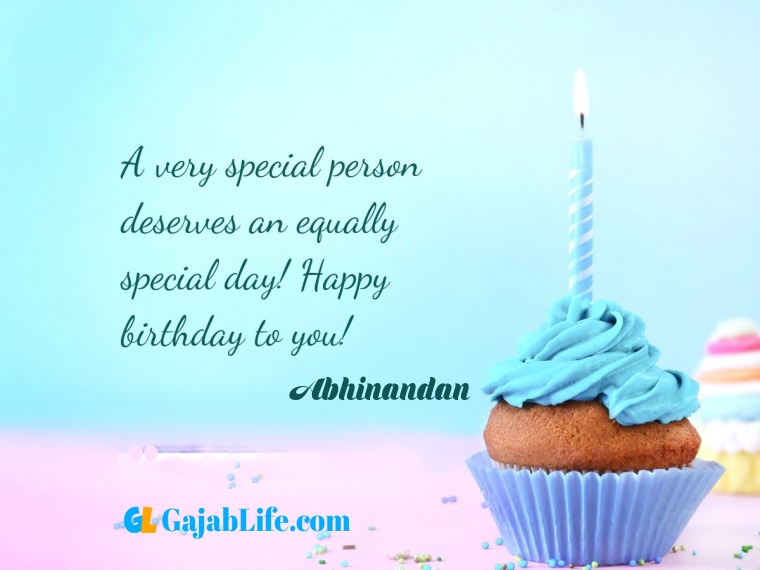 Abhinandan write name on happy birthday cake and send on whatsapp pics