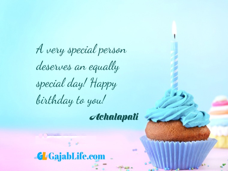 Achalapati write name on happy birthday cake and send on whatsapp pics