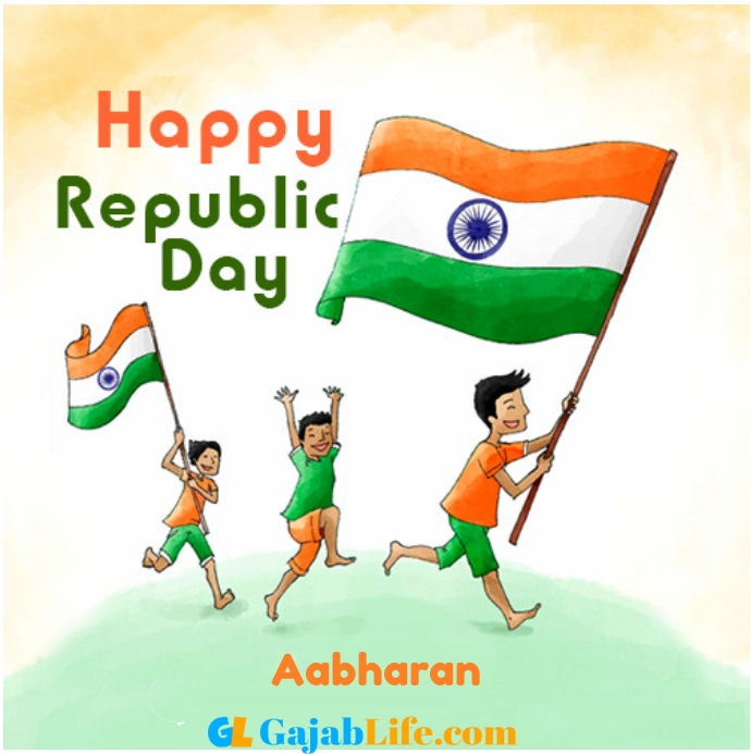 Aabharan happy republic day 26 jan