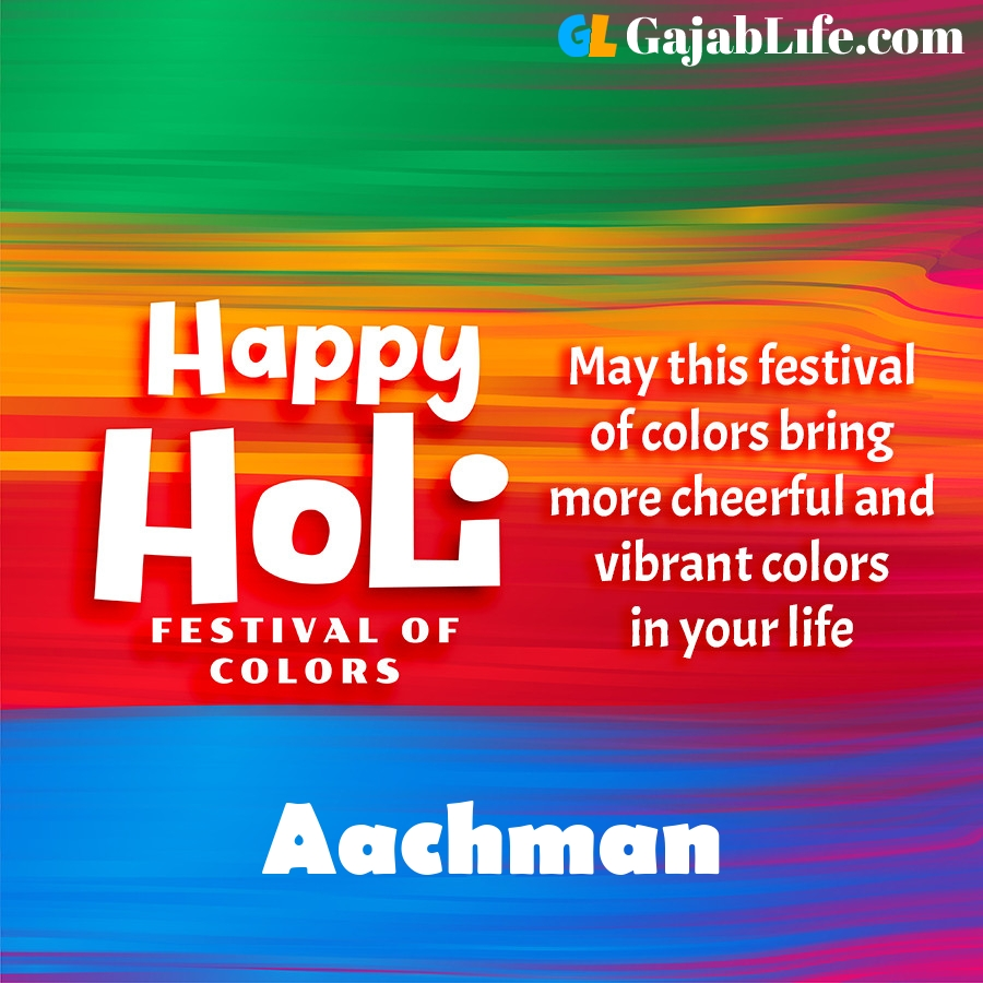Aachman happy holi festival banner wallpaper