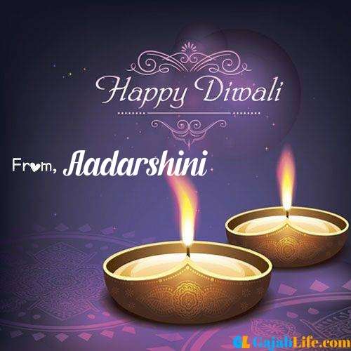 Aadarshini wish happy diwali quotes images in english hindi 2020