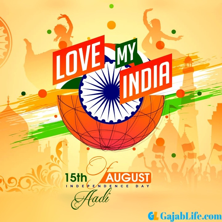 Aadi happy independence day 2020