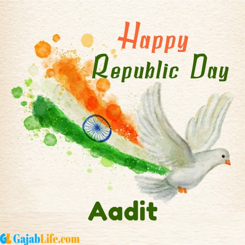 Aadit the republic day of india - 26th january