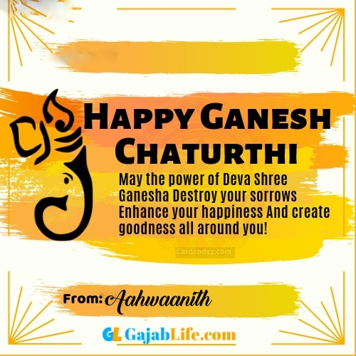 Aahwaanith best ganpati messages, whatsapp greetings, facebook status