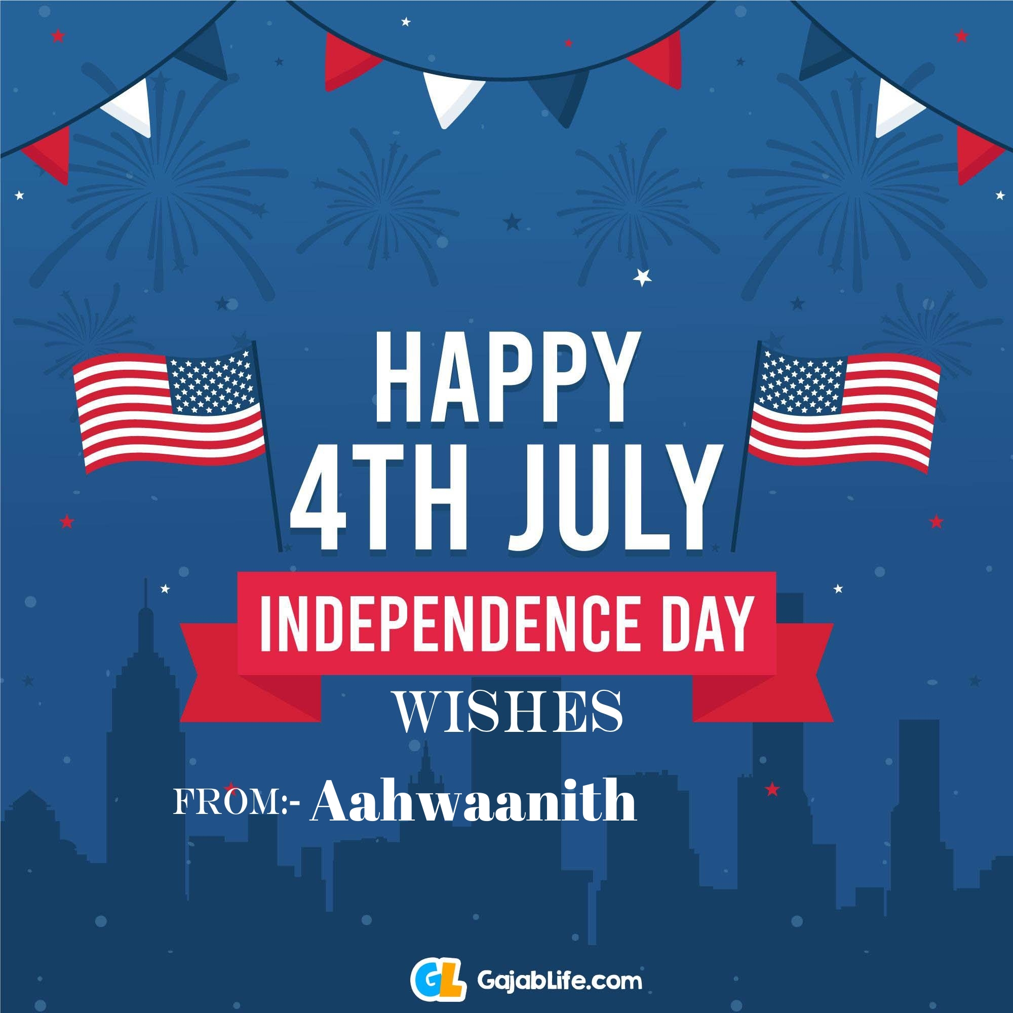 Aahwaanith happy independence day united states of america images