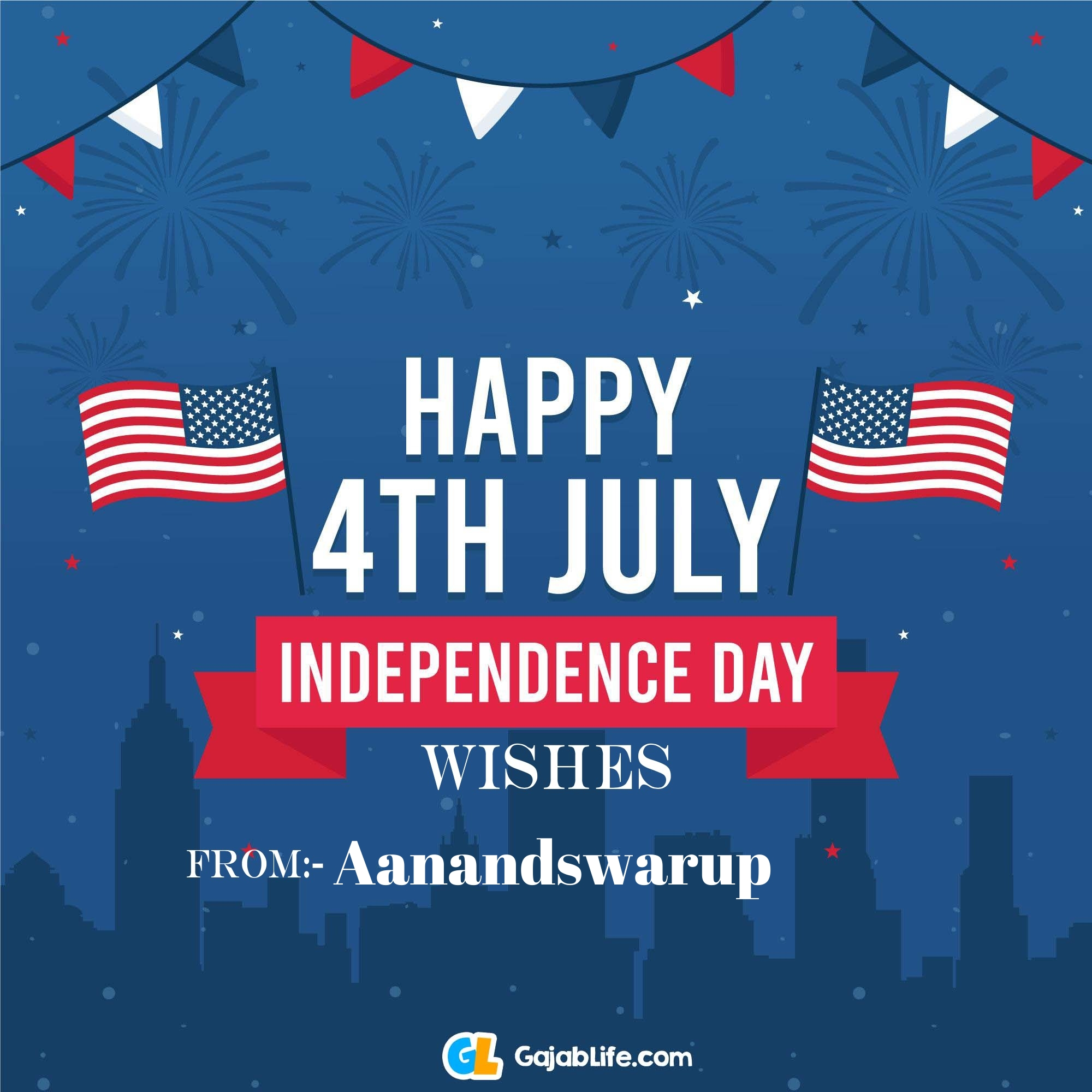 Aanandswarup happy independence day united states of america images