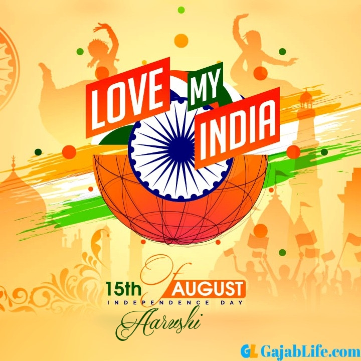 Aarushi happy independence day 2020