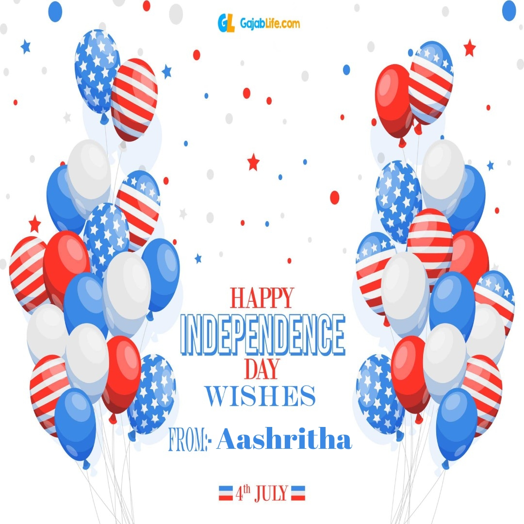 Aashritha 4th july america's independence day