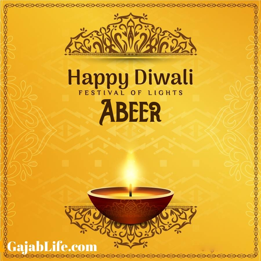Abeer happy diwali 2020 wishes, images,