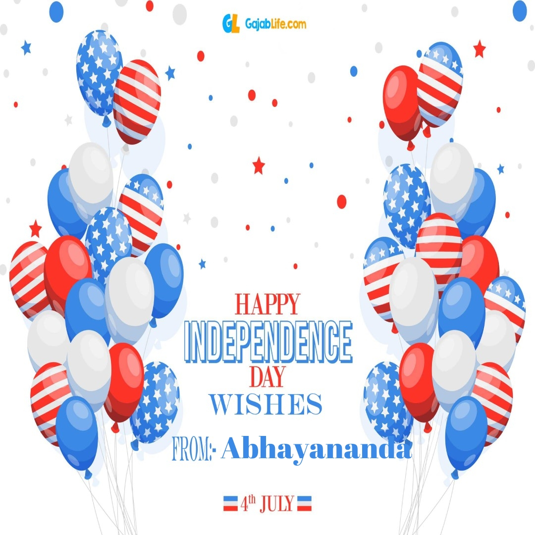Abhayananda 4th july america's independence day