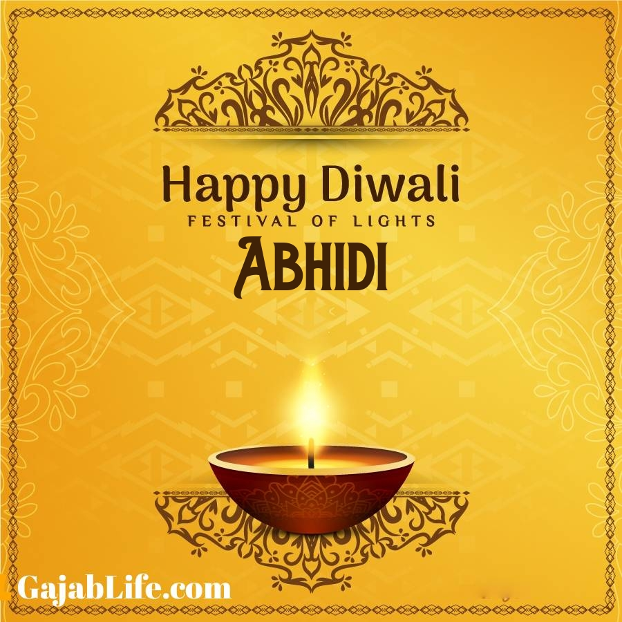 Abhidi happy diwali 2020 wishes, images,