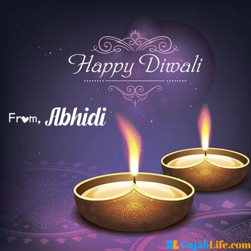Abhidi wish happy diwali quotes images in english hindi 2020