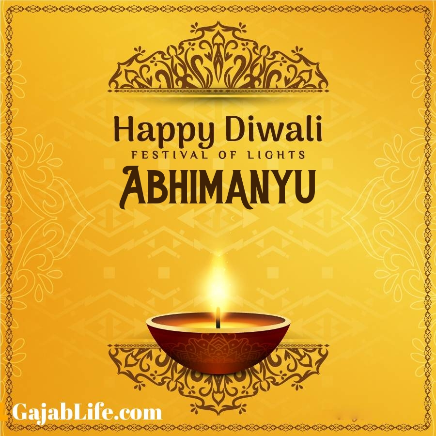 Abhimanyu happy diwali 2020 wishes, images,