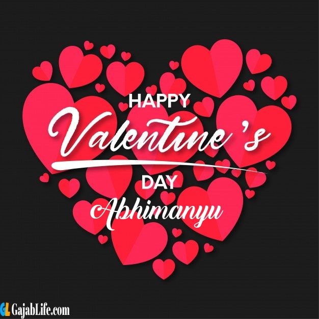 Abhimanyu happy valentines day free images 2020