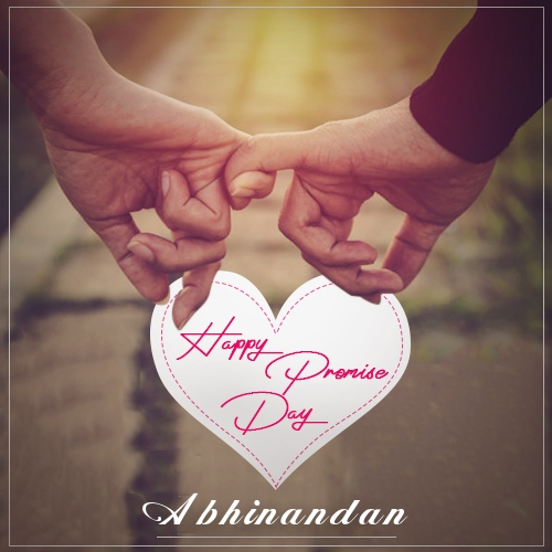 Abhinandan happy promise day quotes 2020 romantic promise day messages and wishes