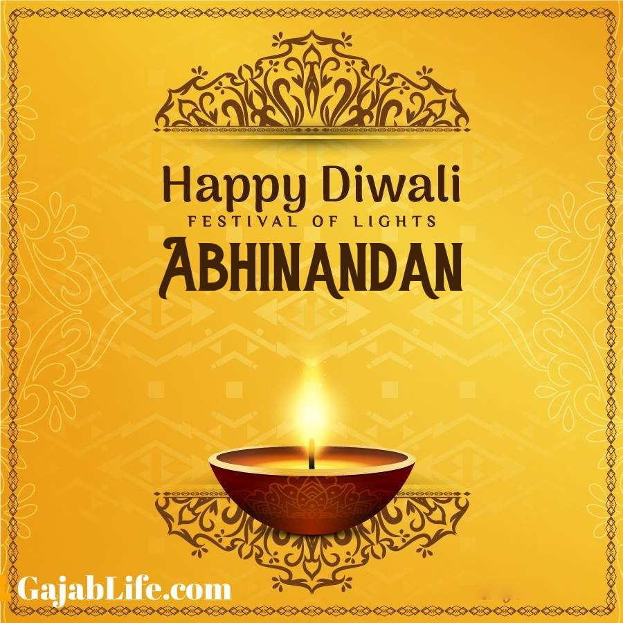 Abhinandan happy diwali 2020 wishes, images,