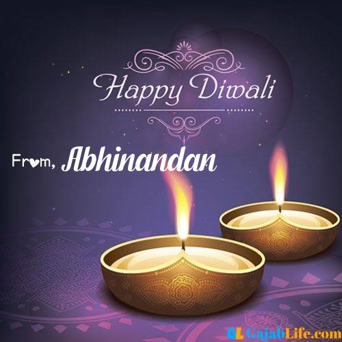 Abhinandan wish happy diwali quotes images in english hindi 2020