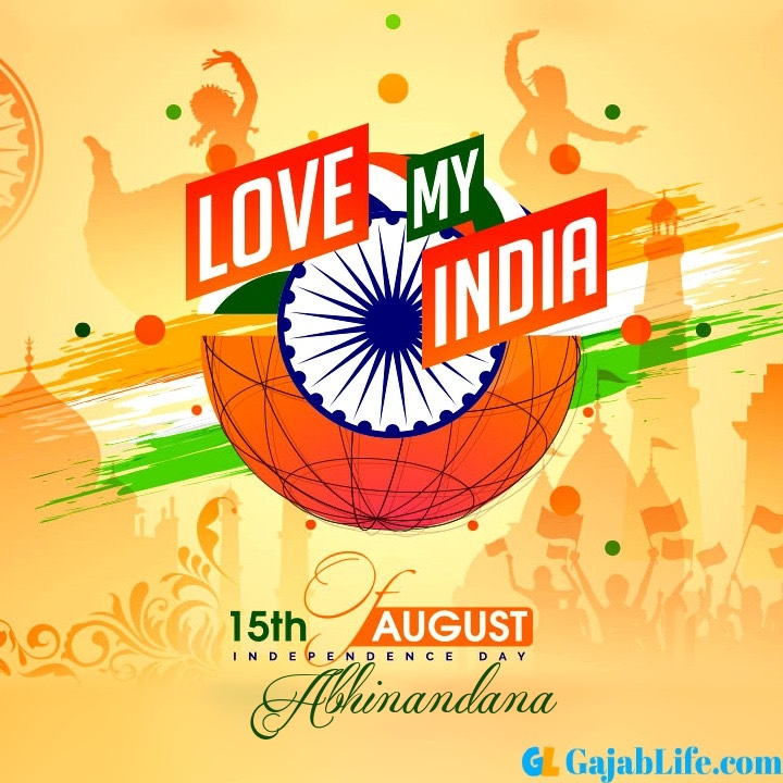 Abhinandana happy independence day 2020