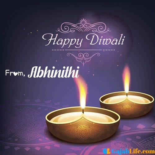 Abhinithi wish happy diwali quotes images in english hindi 2020