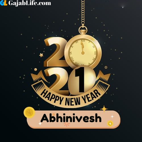 Abhinivesh happy new year 2021 wishes images