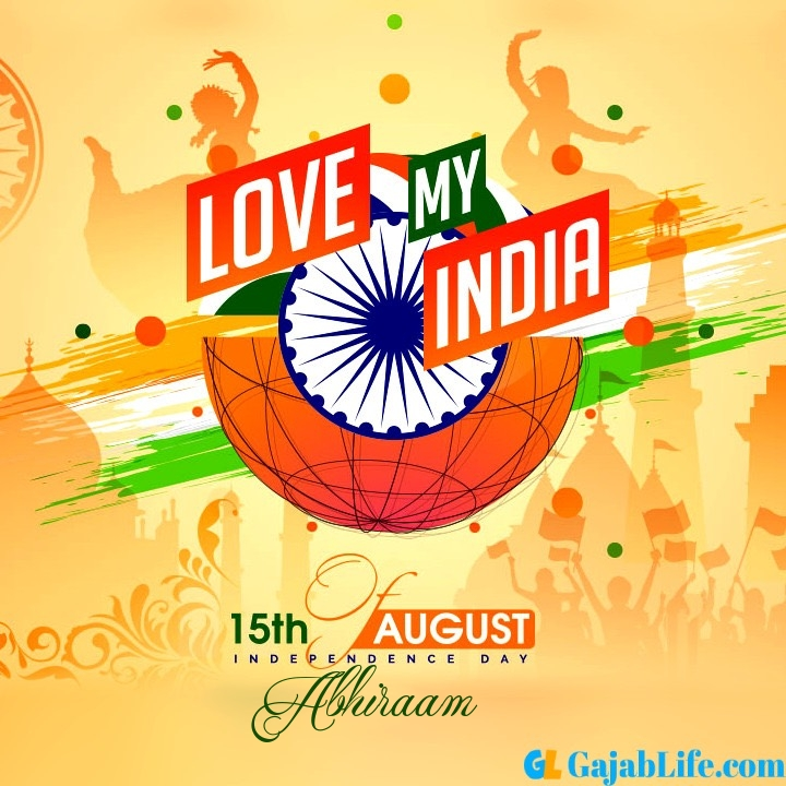 Abhiraam happy independence day 2020