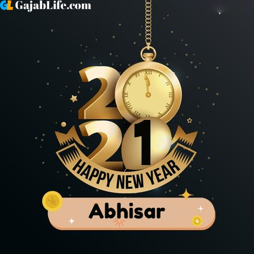 Abhisar happy new year 2021 wishes images