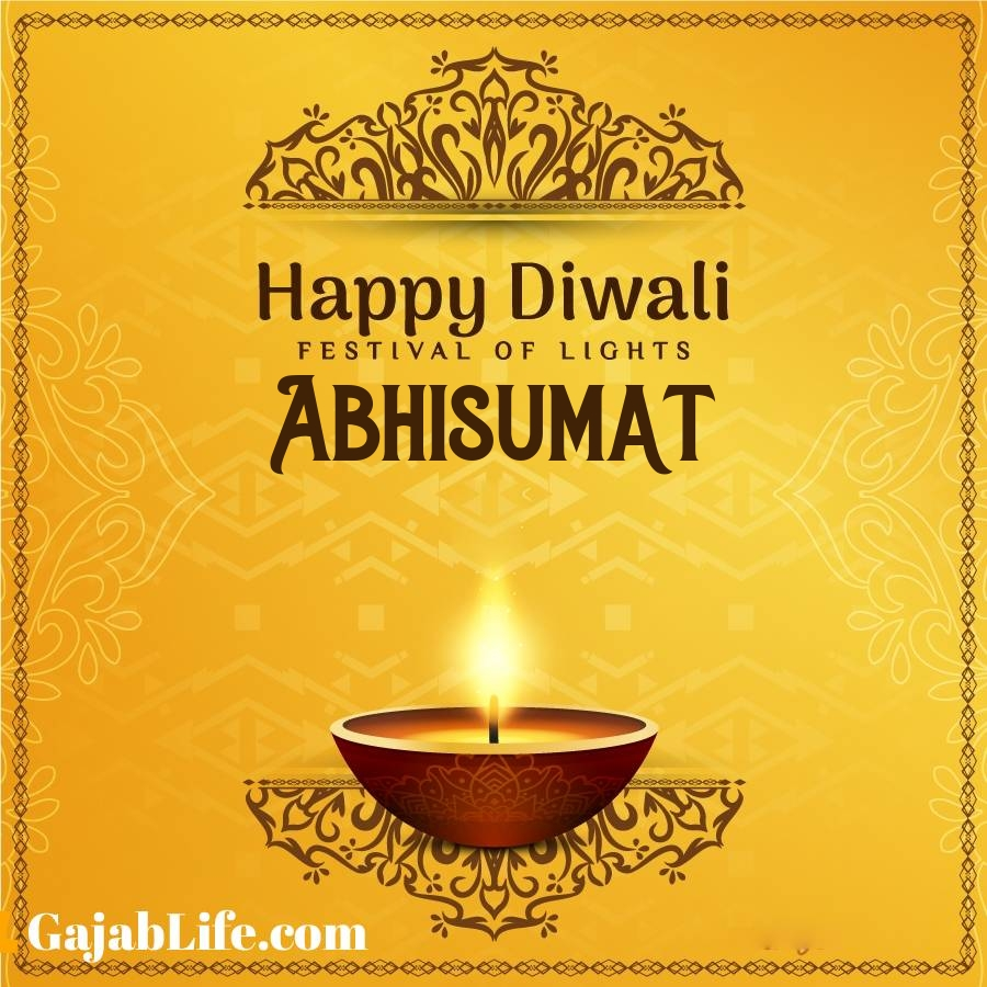 Abhisumat happy diwali 2020 wishes, images,