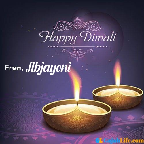 Abjayoni wish happy diwali quotes images in english hindi 2020
