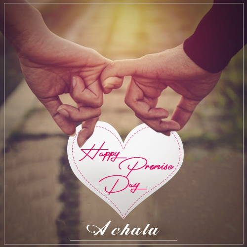 Achala happy promise day quotes 2020 romantic promise day messages and wishes