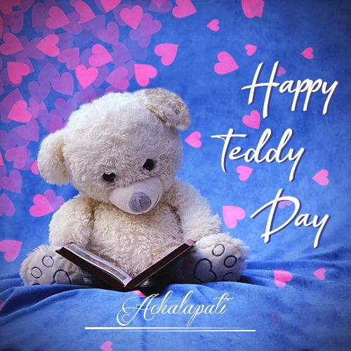 Achalapati happy teddy day 2020 images