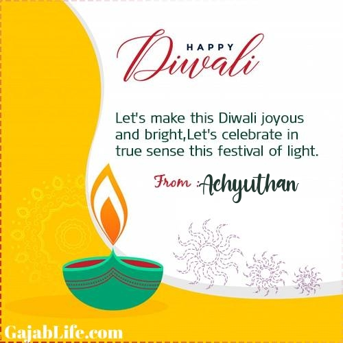 Achyuthan happy deepawali- diwali quotes, images, wishes,