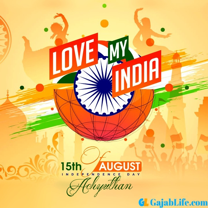 Achyuthan happy independence day 2020