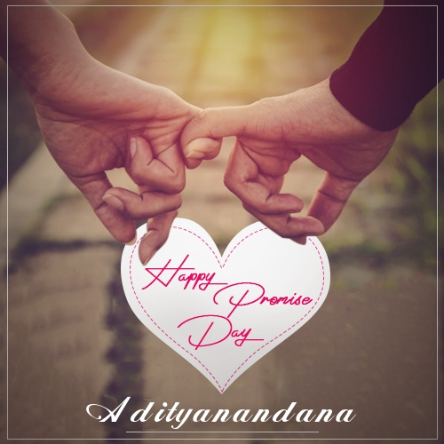 Adityanandana happy promise day quotes 2020 romantic promise day messages and wishes