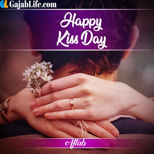 Aftab happy kiss day 2020 with name
