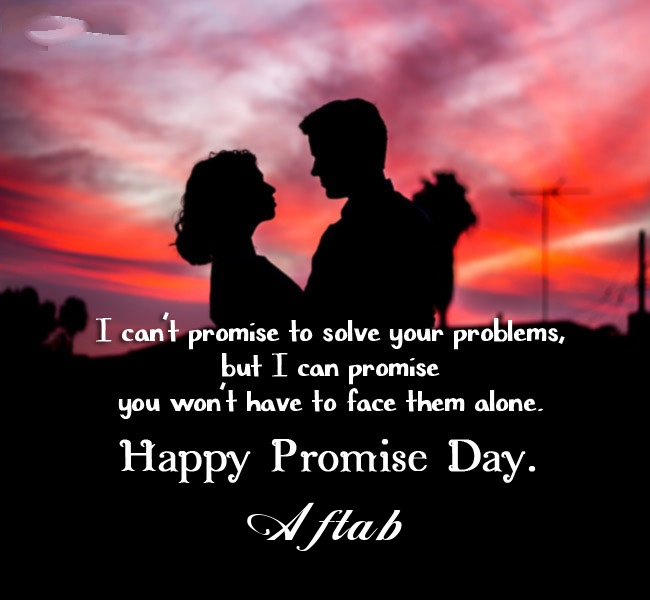 Aftab promise day 2020 quotes messages and images