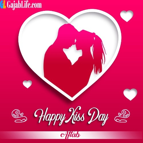 Aftab write-name-on-kiss-day-image-happy-kiss-day-images-with-names