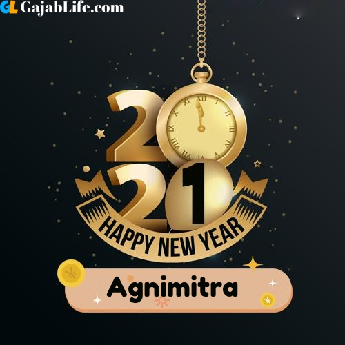 Agnimitra happy new year 2021 wishes images
