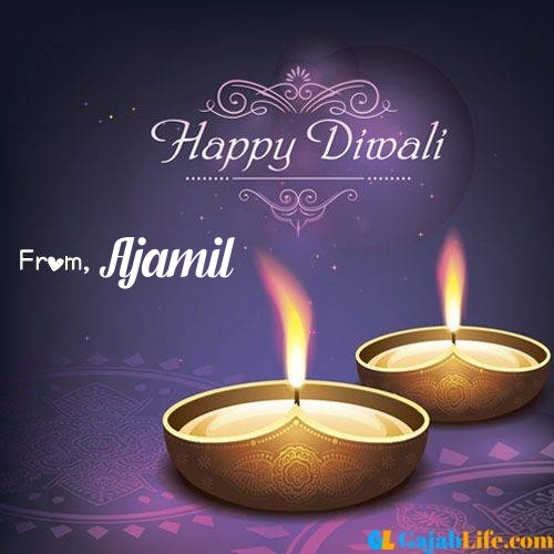 Ajamil wish happy diwali quotes images in english hindi 2020