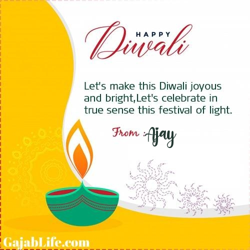 Ajay happy deepawali- diwali quotes, images, wishes,