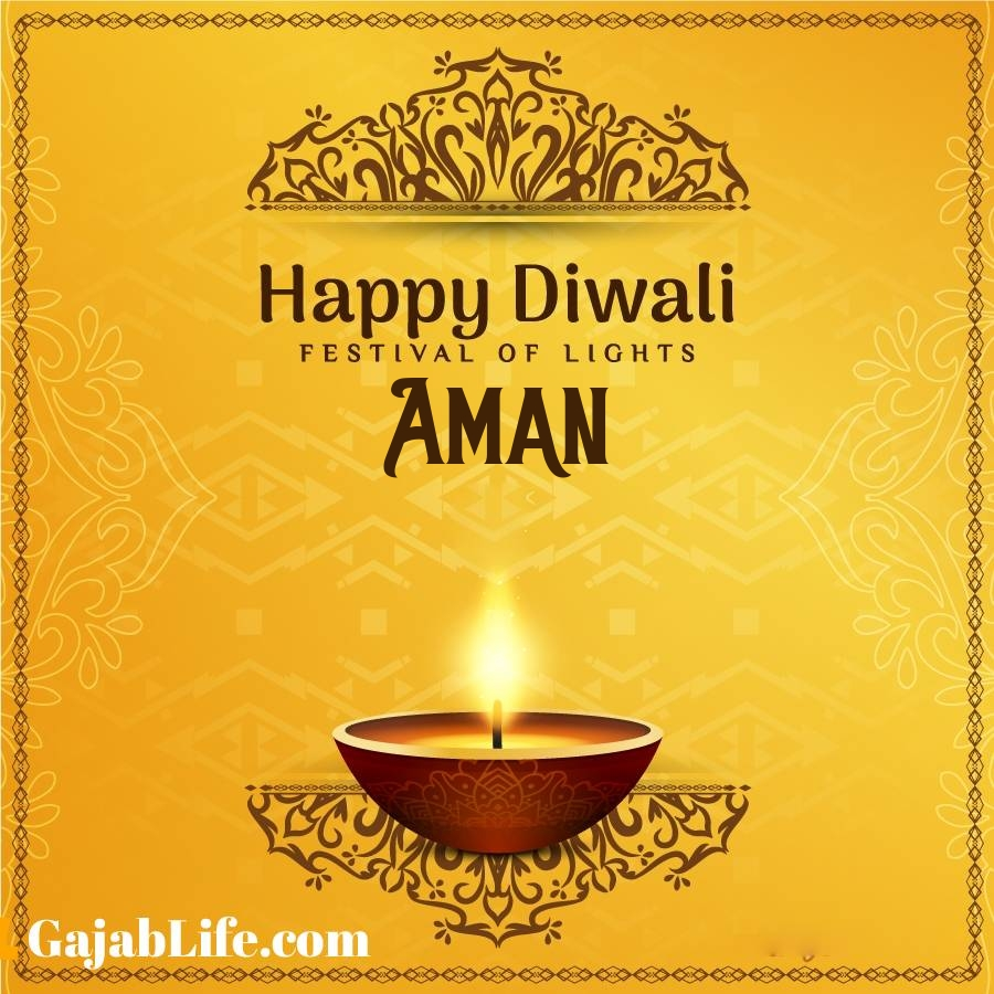 Aman happy diwali 2020 wishes, images,