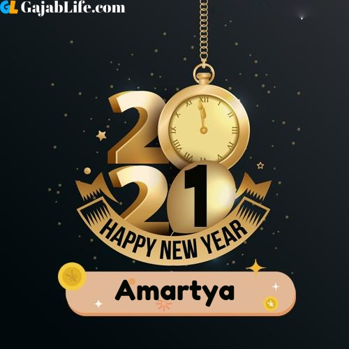 Amartya happy new year 2021 wishes images