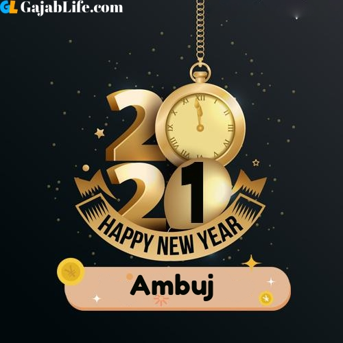 Ambuj happy new year 2021 wishes images