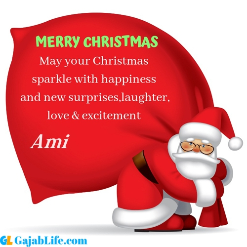 Ami merry christmas images with santa claus quotes