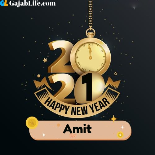 Amit happy new year 2021 wishes images