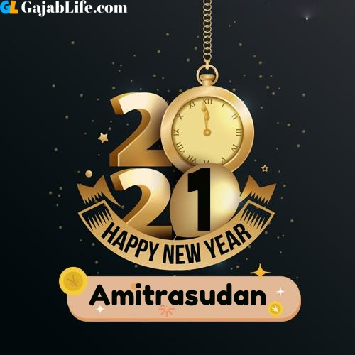 Amitrasudan happy new year 2021 wishes images