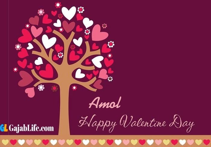 Amol romantic happy valentines day wishes image pic greeting card
