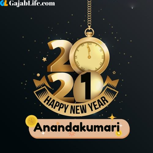 Anandakumari happy new year 2021 wishes images