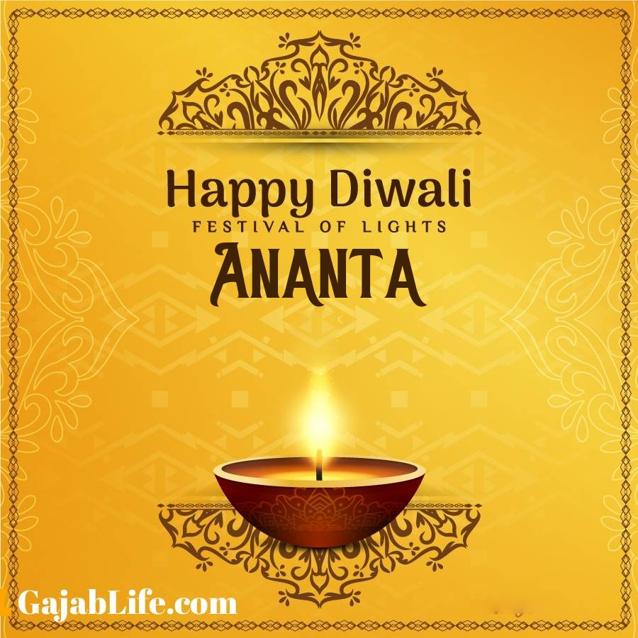 Ananta happy diwali 2020 wishes, images,